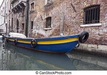 gondola boat,Venice, Italy