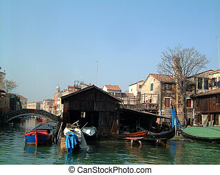 Gondola boatyard 2