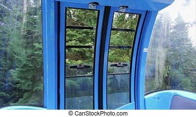Gondola in the mountains - Gondola ride in the mountains...