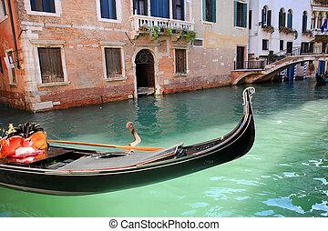 Gondola in Venice, Italy