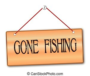 gone fishing clipart and stock illustrations 167 gone fishing rh canstockphoto com gone fishing cartoon clipart Gone Fishing C