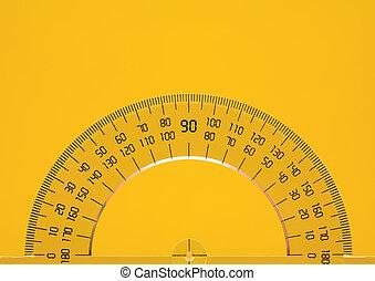 goniometro, giallo