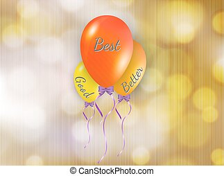 good better and best balloons