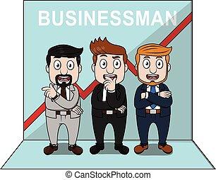 Good businessman group