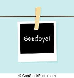 Good bye card