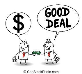 good deal - Joe lends money at a business partner for a new ...