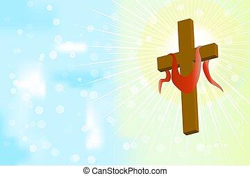 Good Friday. Holy week catholic tradition.