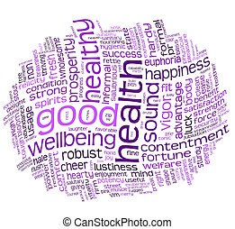 good health and wellbeing tag cloud - good health and ...