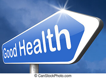 Good health - healthy life good health and vitality energy...