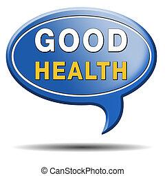 good health sign