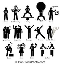 Good Human Personalities - Positive personalities traits, ...