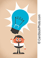 Good Idea - Conceptual illustration for a good idea. No...