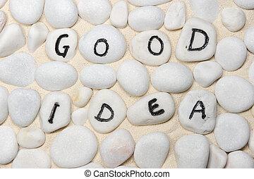 Good ideas words