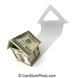 good investment property - hires computer generated image of...