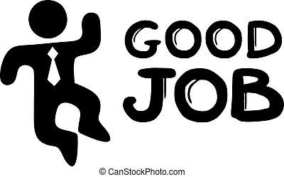 Good job - Creative design of good job