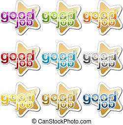 Good job motivation sticker - Good job child school ...