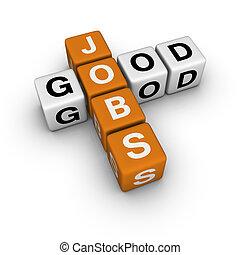 good jobs   (3D crossword orange series)