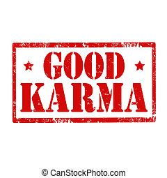 Good Karma-stamp