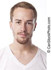 Good Looking Man Portrait - Good Looking Young Man Portrait...
