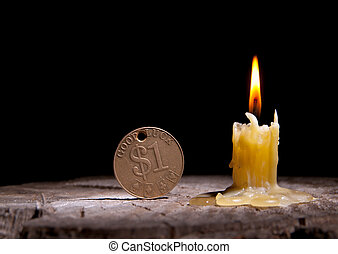 Good luck and candle