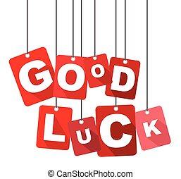 good luck, red vector good luck, flat vector good luck, background good luck