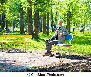 Good morning  in park