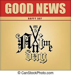 Good news Anime Day - Poster for Anime Day. Good news - ...