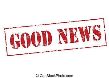 Good news - Rubber stamp with text good news inside, vector ...