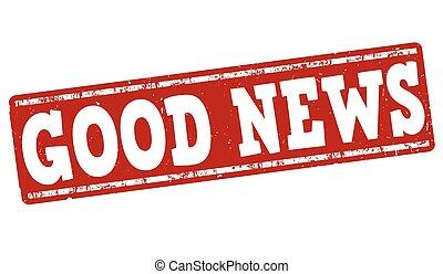 Good news stamp