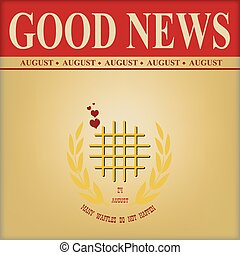 Good news waffles day - Good News International Waffles Day...