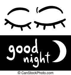 Good night - Creative design of Good night