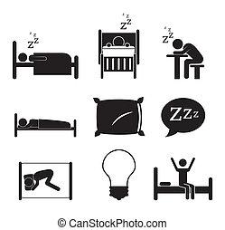Good night design over background, vector illustration
