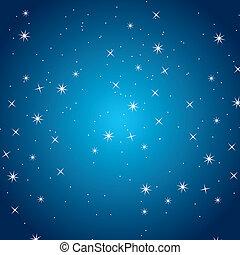 night - good night design over sky background vector...