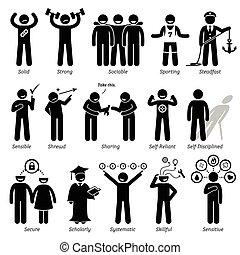 Good Personalities - Positive personalities traits, attitude...