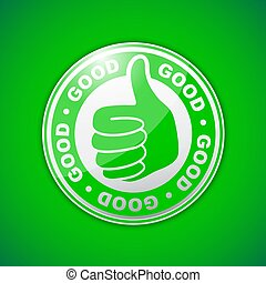 good thumbs up icon