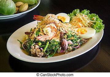 Good Veggie Spicey Salad, vegatable salad