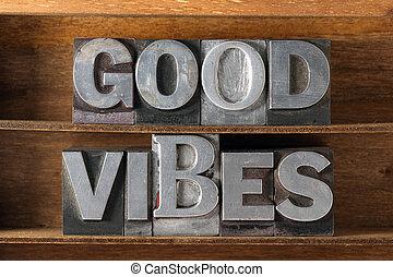 good vibes tray