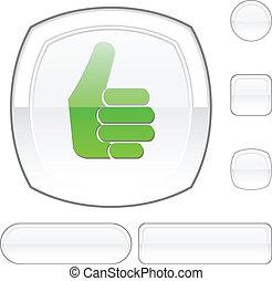 Good white button.