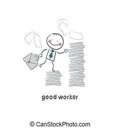 good worker