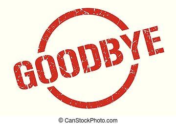 goodbye stamp