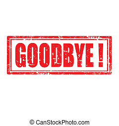 Goodbye-stamp