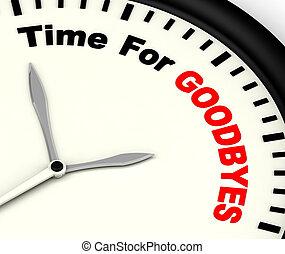 goodbyes, treść, pożegnanie, czas, wiadomość, gracz bez...