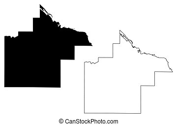 Goodhue County,  Minnesota (U.S. county, United States of America, USA, U.S., US) map vector illustration, scribble sketch Goodhue map