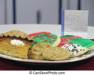 Goodies for Santa