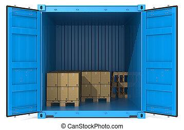 goods., 容器
