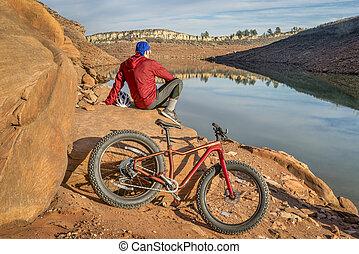 gorda, biking, em, colorado, foothills