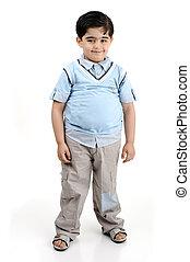 gorda, criança