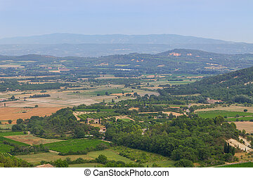 Gordes in the South of France, charming small town panorama