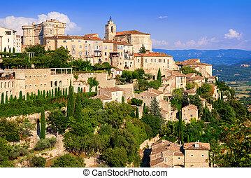 Gordes old town, France