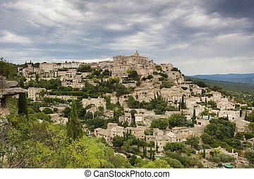 Gordes, Provence-Alpes-Cote d'Azur, France